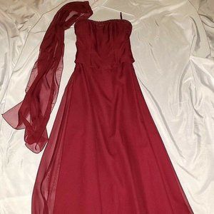 U.S. Size 5/6 Mori Lee Prom Evening Gown Dress